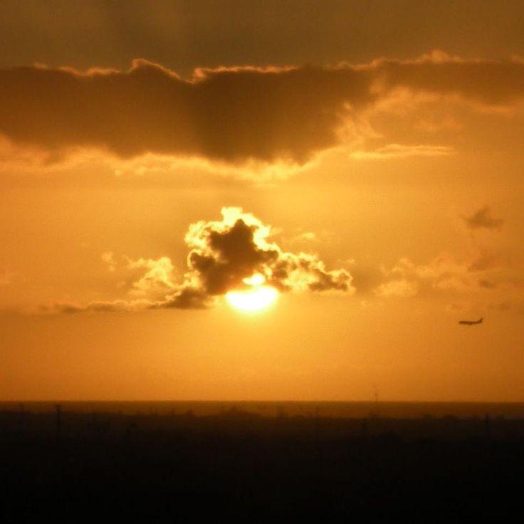 "Beautiful sunsets mark ""Pau Hana Time"" every Friday in Hawaii."