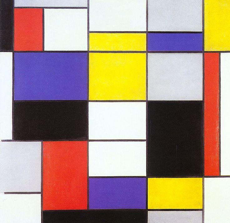 Primary Colors & Piet Mondrian -