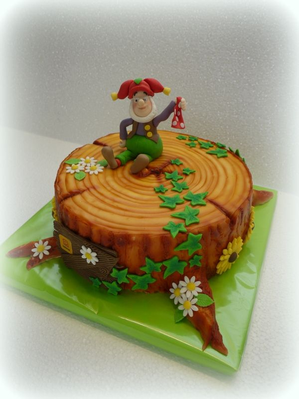 Plop cake/taart.. Made by Art and cake
