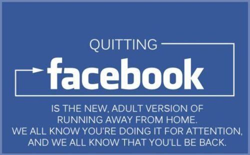 This is just so damn true.: Quitting Facebook, Quotes, Truth, So True, Funny Stuff, Humor, Funnies