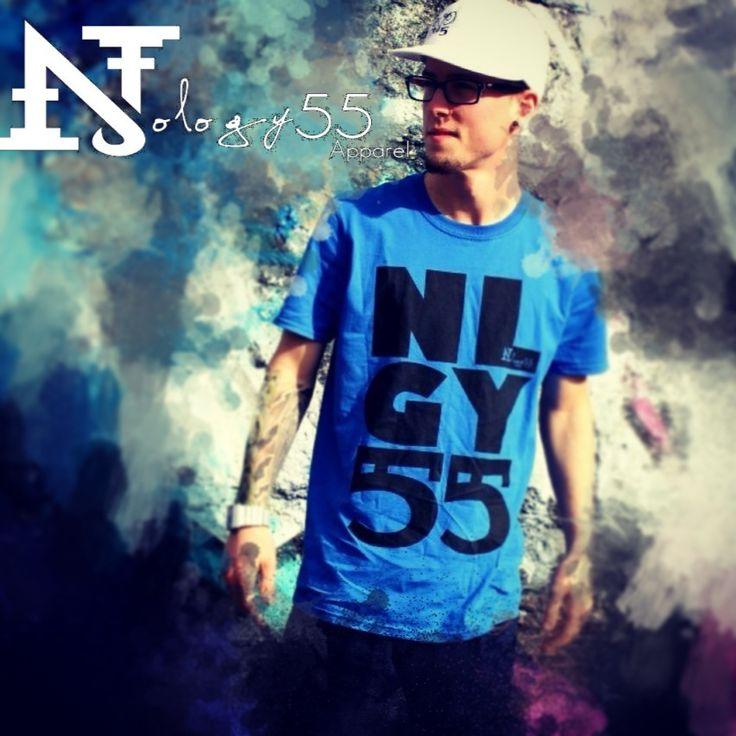 """Nology55 Apparel """"Stacked"""" tee"""