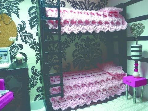 How To Make A Doll Bunk Bed From Cardboard And Papier Mache