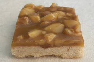 Macademia nuts and maple caramel -- one of the best things I've made in ages.