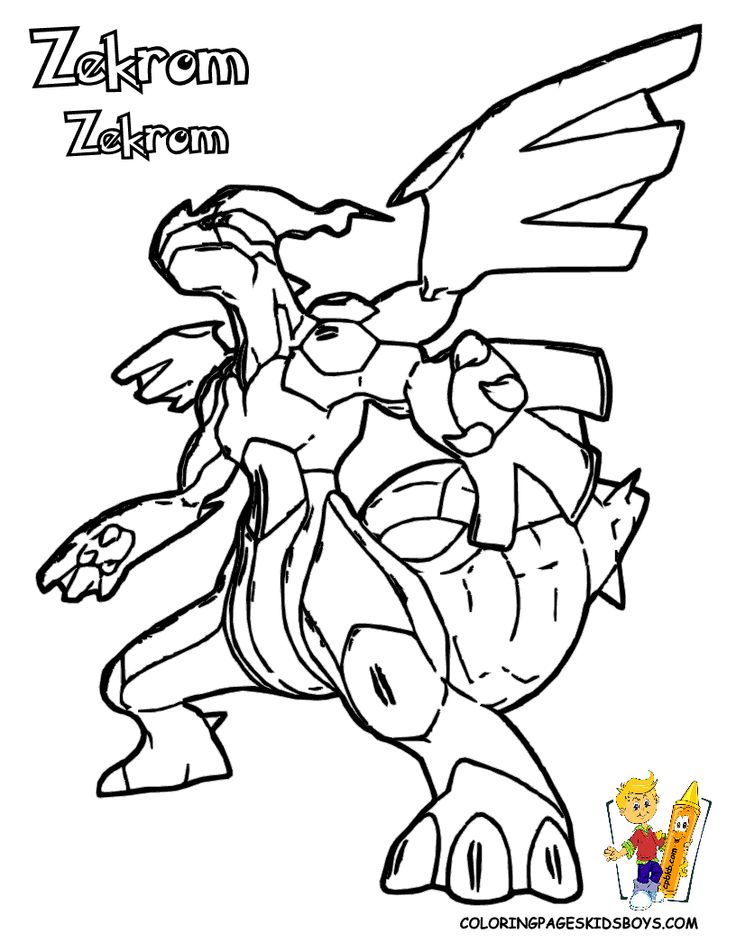 Pokemon Coloring Pages Black And White