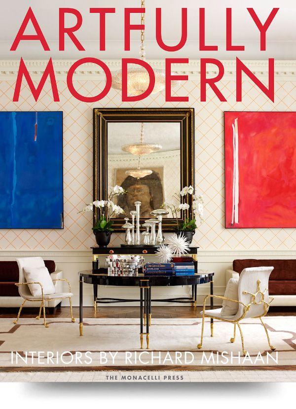 Artfully modern book cover
