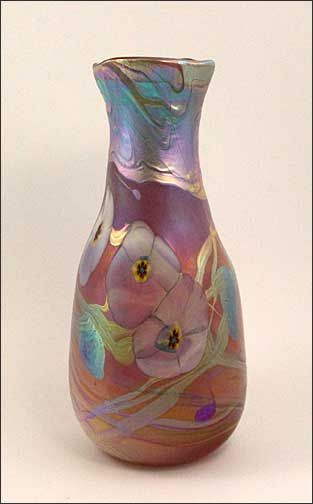 More from Tom Michael. I love opalescent glass.