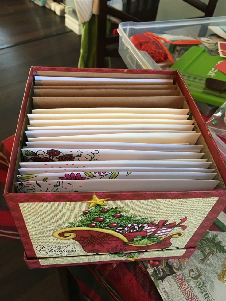 collection of homemade cards all wrapped up to give as a gift