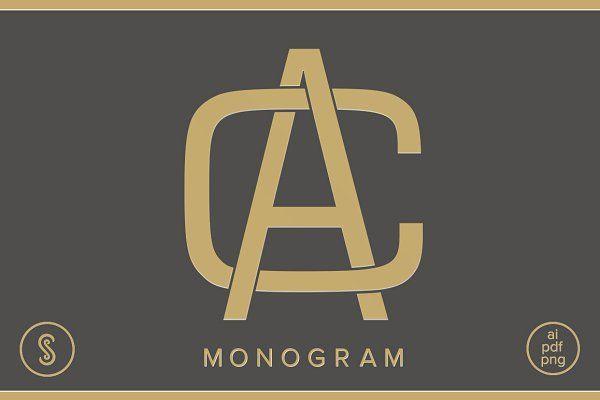 AC Monogram CA Monogram - Logos
