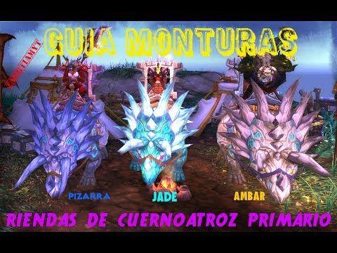 World of Warcraft | Guía Monturas | Belisario Zandalari | Cuernoatroz Pr...