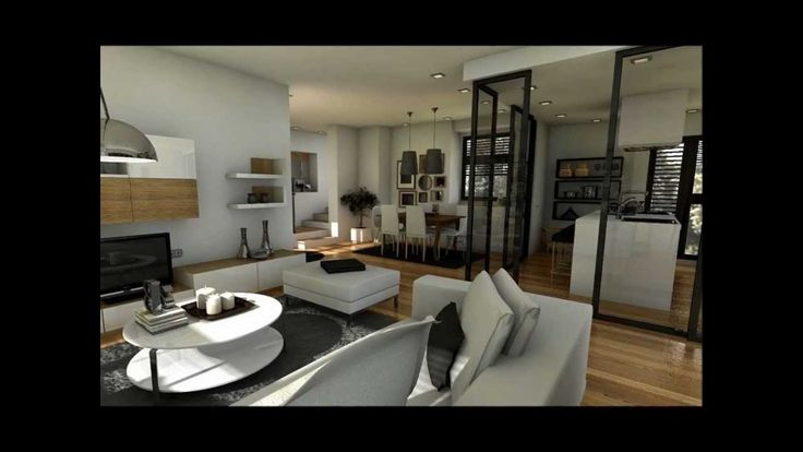 17 best images about espacios chicos grandes ideas on for 100m2 apartment design