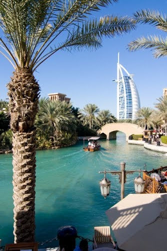 Dubai again =) This is a photo from my 3rd trip there, from Madinat Jumeirah. Burj Al Arab in the background