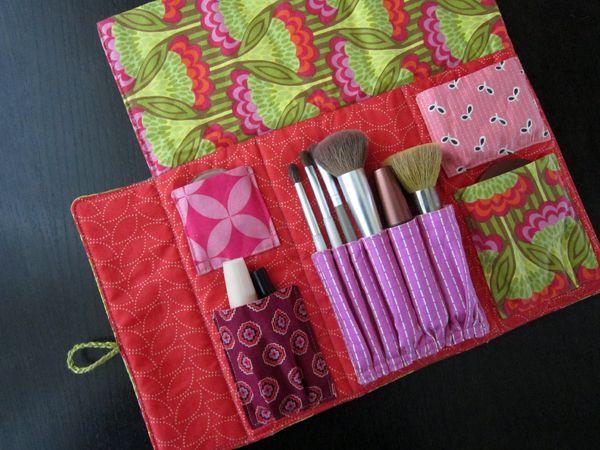 11 best cosmetic brush set bag images on pinterest