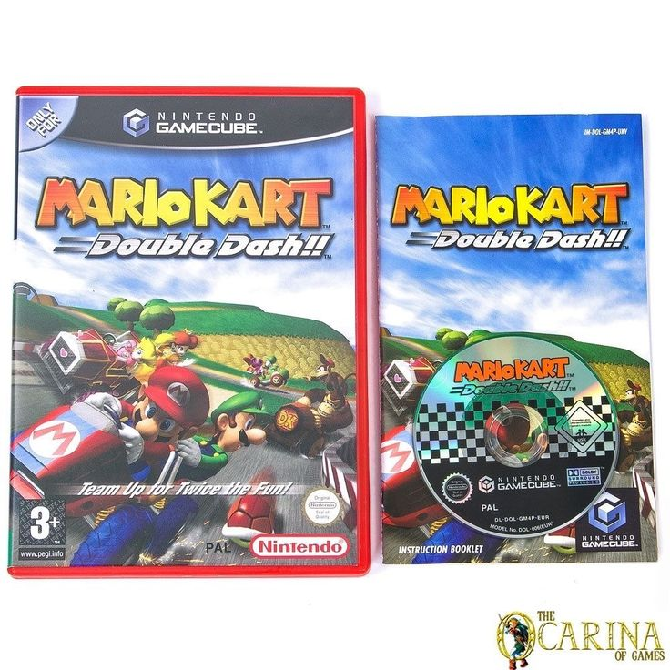 Mario Kart Double Dash Nintendo Gamecube Game Case Uk