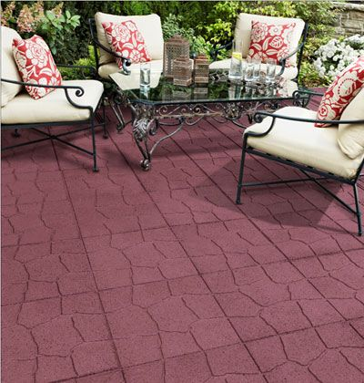 Eco friendly pavers Envirotile is made with
