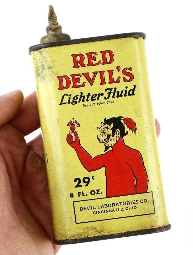 https://www.ebay.com/itm/Vintage-1950s-Red-Devils-Lighter-Fluid-8oz-29-Metal-Can-Oiler-Advertising/282811031307?hash=item41d8d9df0b:g:ZE0AAOSwE95aXYru