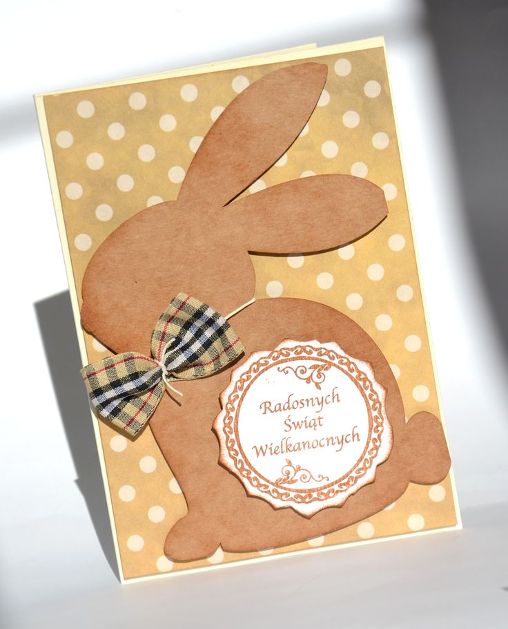 Easter card Mr Bunny  scrapbooking by Bluebell