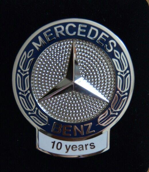 10 year mercedes owner emblem