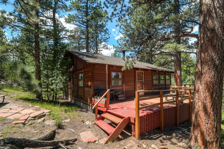 17 best images about colorado vacation rentals on for Rocky mountain state park cabins