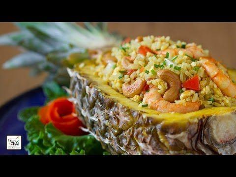 Arroz frito con piña estilo Thai  | Kwan Homsai