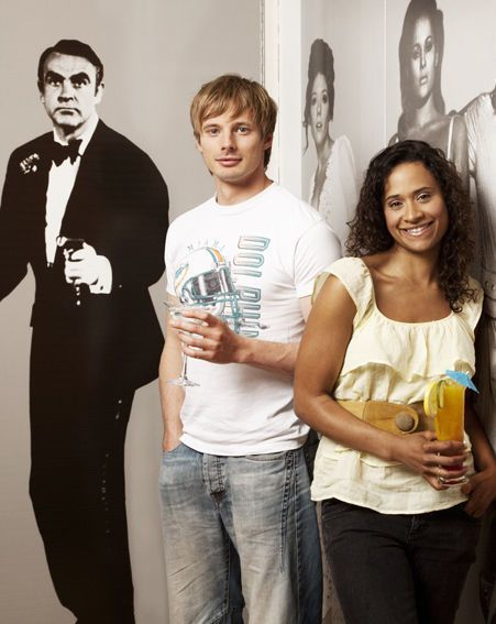 Souvent Bradley James and me I mean Angel Coulby:) | I LUFF U  WY47