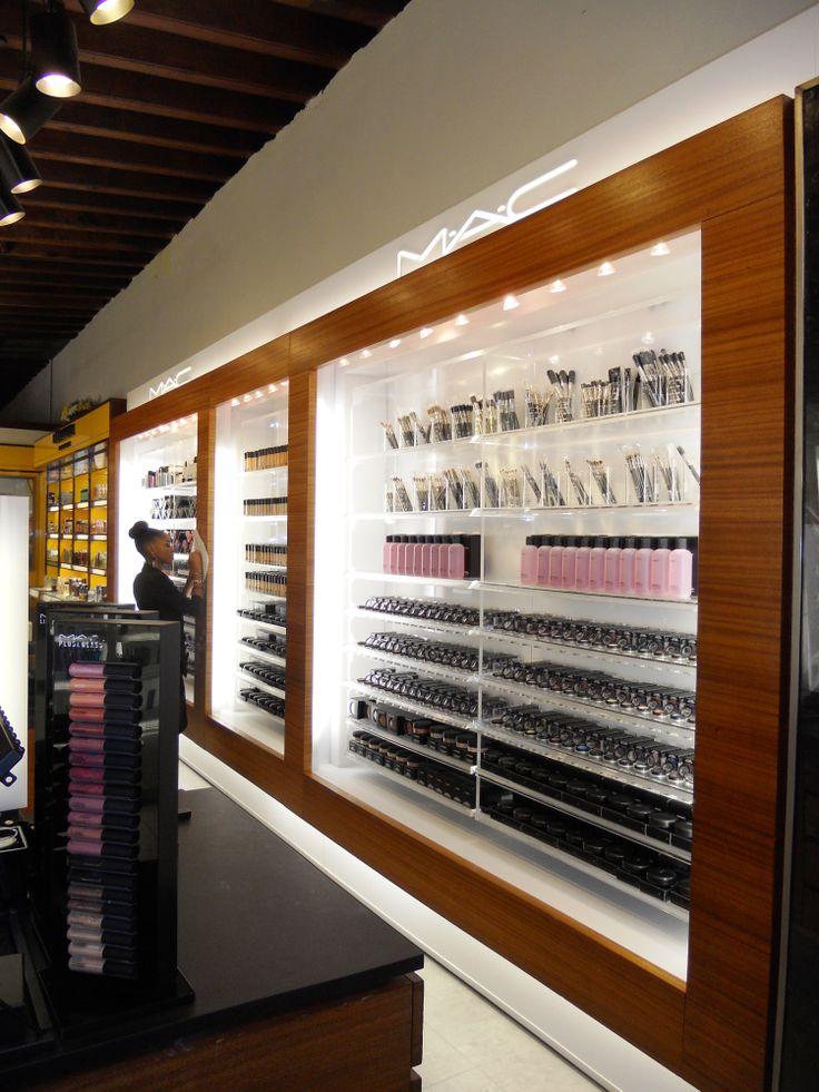 The new MAC cosmetics shop-in-shop!