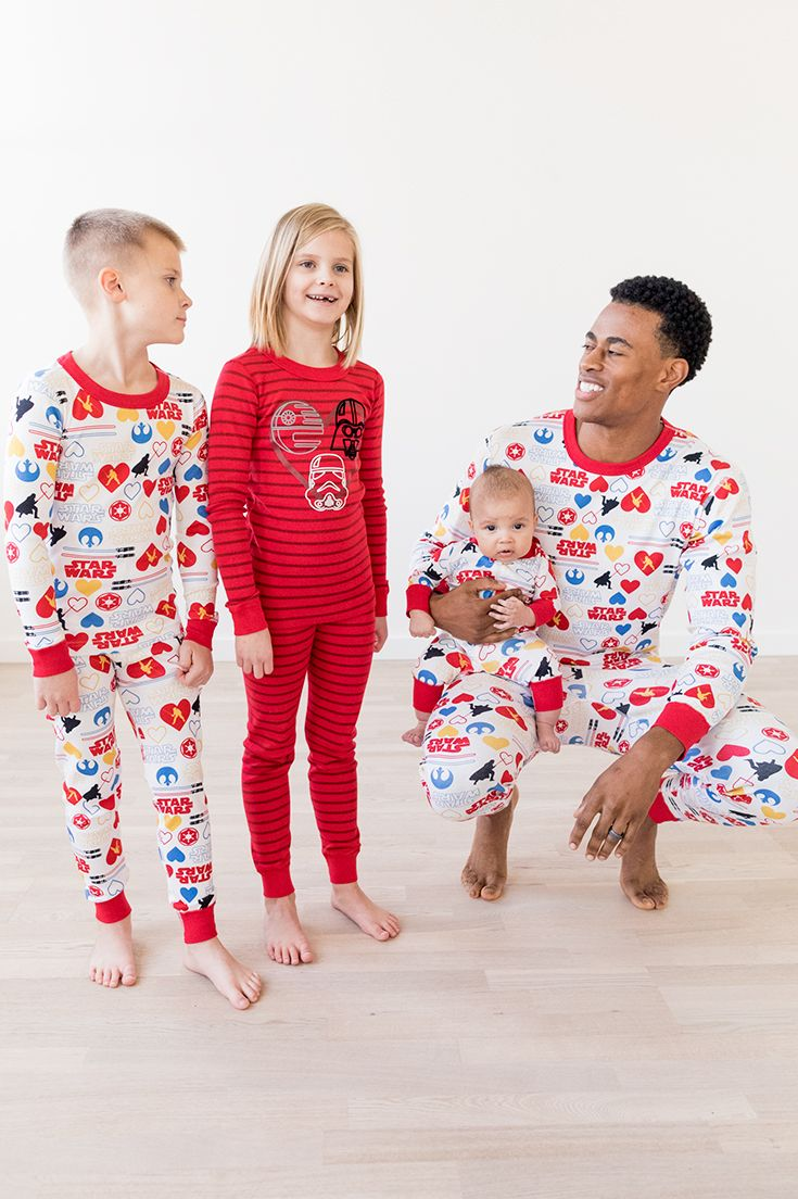 8393056c8bd0 Family Matching Star Wars™ Long John Pajamas in Organic Cotton by Hanna  Andersson