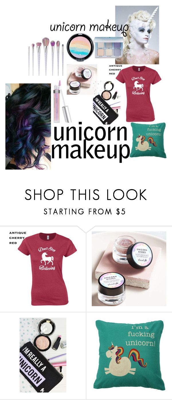 """""""Unicorn Make Up"""" by lilloca5150 ❤ liked on Polyvore featuring beauty and Rock On Ruby"""