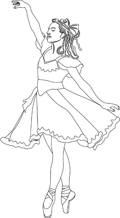 63 best ballet coloring pages images on pinterest | drawings ... - Ballerina Printable Coloring Pages