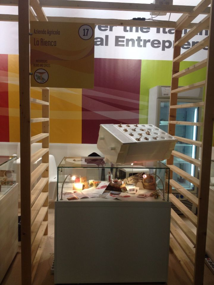 Our stand is ready #anuga2015 #colonia #fair #saffron #greenhouse #aeroponic #contadini #zafferano #aeroponica #sostenibilita #tradizione #innovazione #sustainability #tradition #innovation