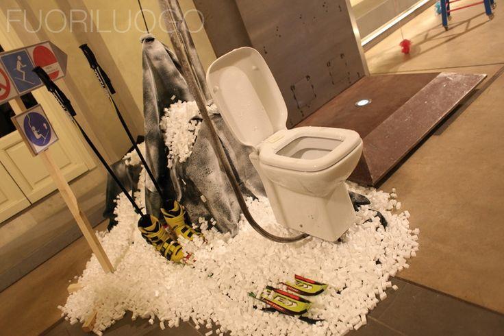 """Risalita sul trono"" by - ALL RIGHTS RESERVED [Edizione 2010 Fuoriluogo: WChairs] #art #wc #toilet #bidet"