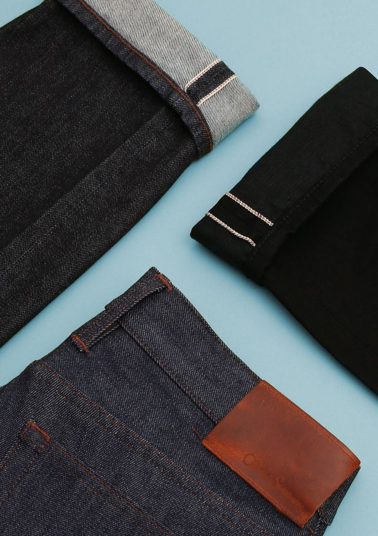 the new denim collection uses 3 types of denim sourced from 2 iconic denim mills, Cone Denim and Candiani