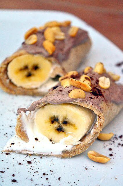 Vaneska Fit Barcelona: Naleśniki pełnoziarniste z bananem
