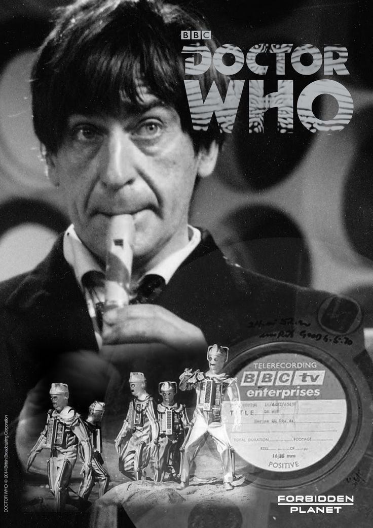 Doctor Who poster for Forbidden Planet's 'lost episodes' DVD promotion.