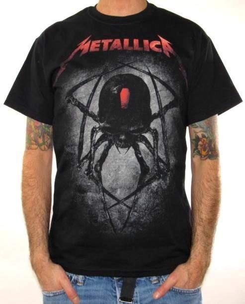 Click for Full Size Image of Metallica, T-Shirt, Spider