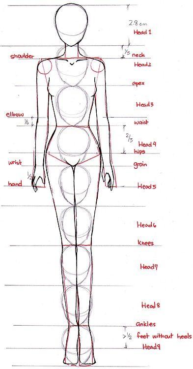 fashion figure | con una cabeza de mas a la real escala del cuerpo humano wooow.