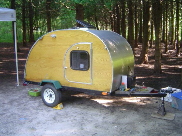 35 best images about teardrop campers on pinterest diy for Cheapest type of house to build