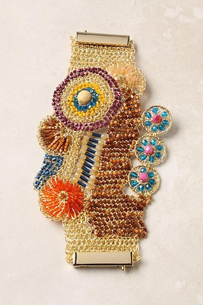 Abstract Byzantine Bracelet