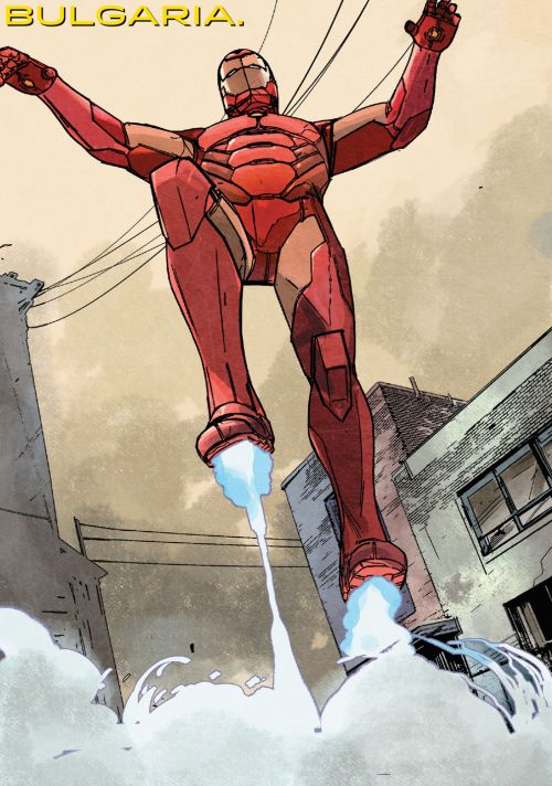 International Iron Man #4 (2016)