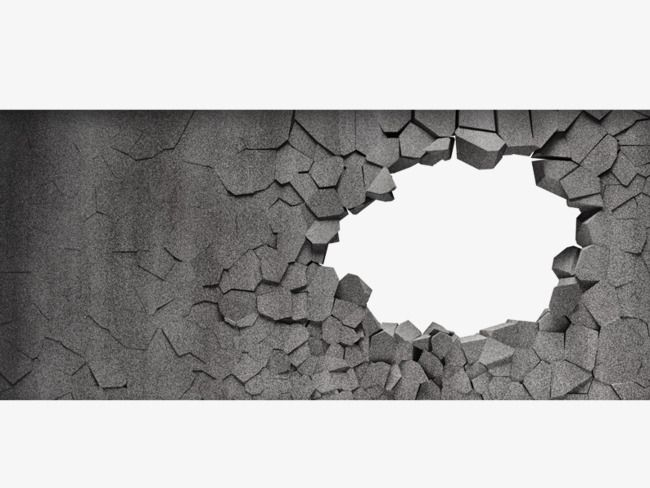Broken Wall Metope Stone Cave Png Transparent Clipart Image And