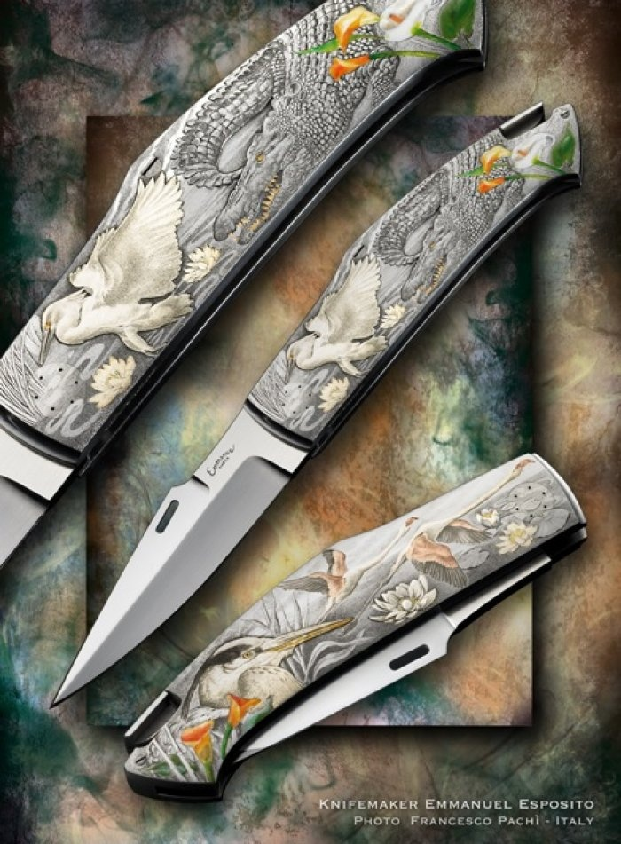 Emmanuel Esposito/ Giovanni Steduto custom knife