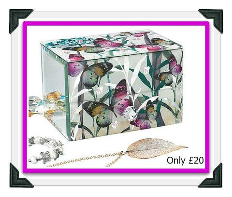 Butterfly Jewellery Chest