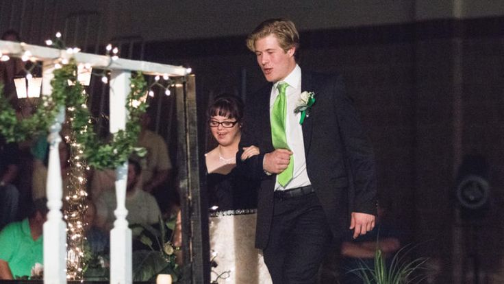 UND hockey star Brock Boeser attends prom