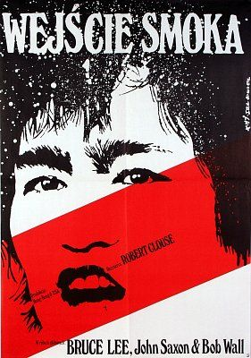 Enter The Dragon - Polish Film Poster