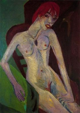 Capelli Rossi (Red Hair) - Ernst Ludwig Kirchner