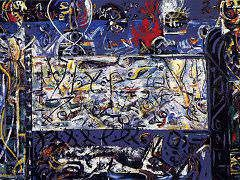 Convergence, 1952 by Jackson Pollock