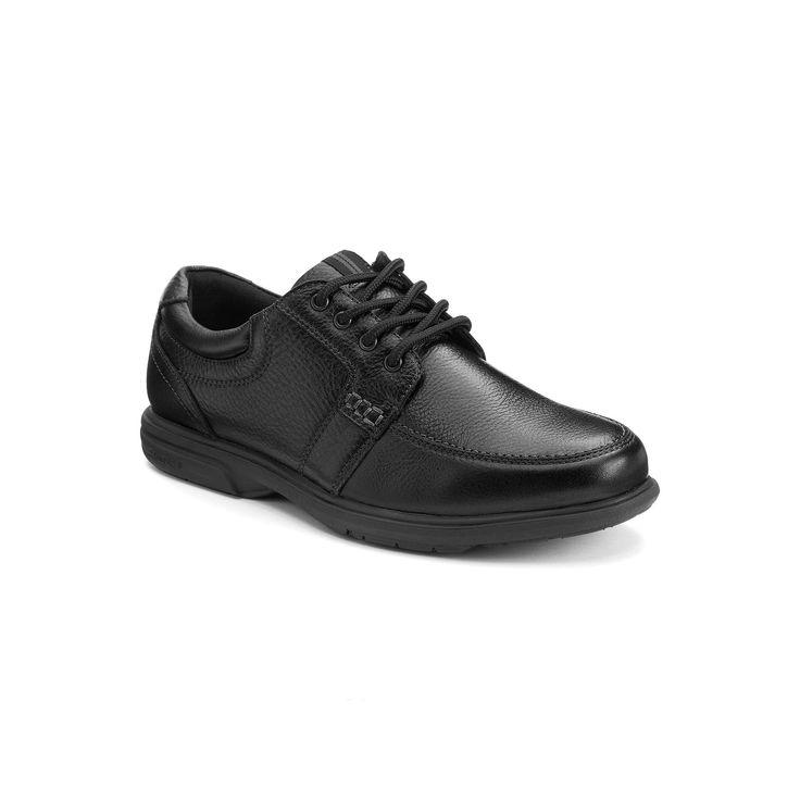 Nunn Bush Carlin Men's Moc-Toe Shoes, Size: medium (7), Black