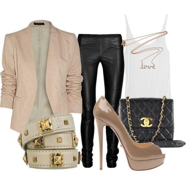 Taupe Love, created by nikiq: Styles Inspirationfallwint