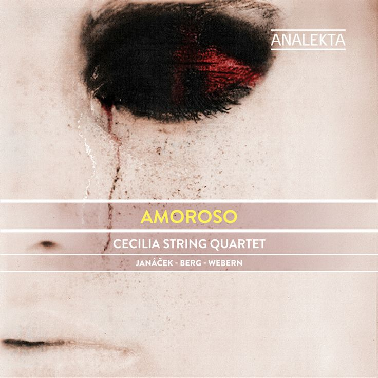 Amoroso by Cecilia String Quartet.  Musique classique / Classical Music Production Analekta
