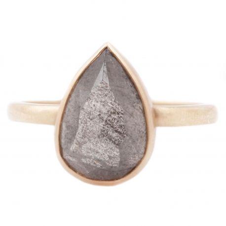 Gray Diamond Solitaire