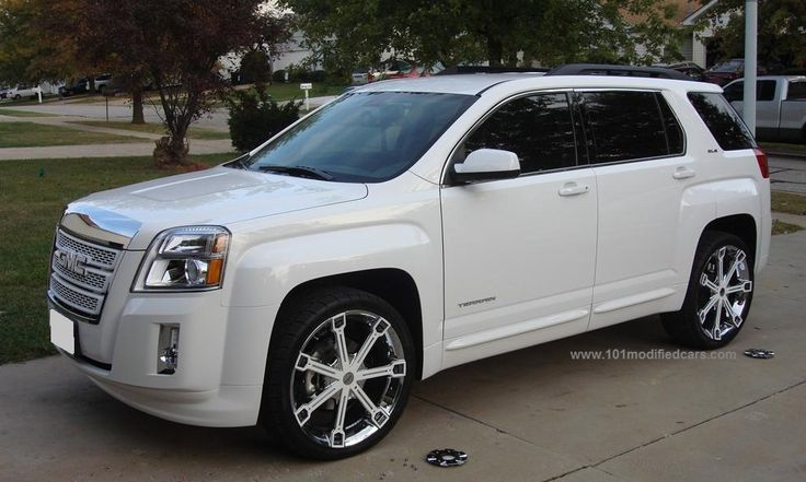 suv rims | ... SUV – white painted chrome grill, 21 inch white painted wheels